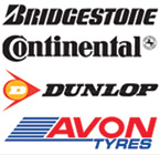 All brands of motorcycle tyres